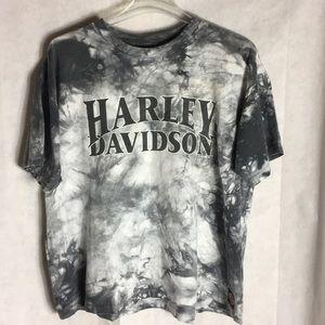 Harley Davidson graphic tie-dye T-shirt size xl
